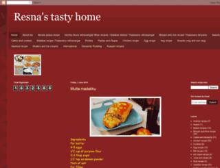 resnastastyhome.blogspot.ae screenshot