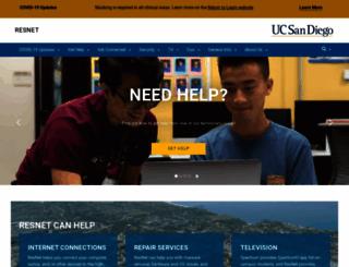 resnet.ucsd.edu screenshot