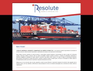 resolute.com.br screenshot