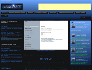 resolvecomputer.com screenshot