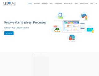 resolveindia.com screenshot