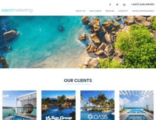 resort-marketing.co.uk screenshot
