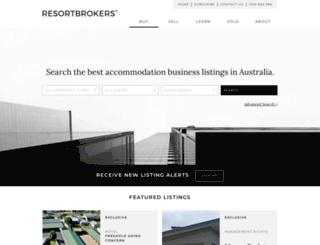 resortbrokers.com.au screenshot