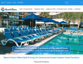 resortchairs.com screenshot