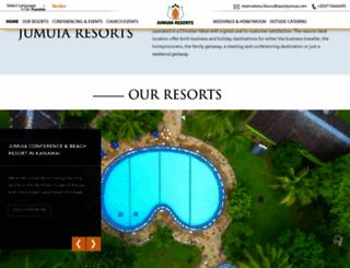 resortjumuia.com screenshot