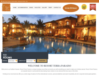 resortterraparaiso.com screenshot