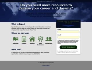 resource-support.net screenshot