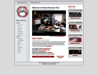 resource.org screenshot