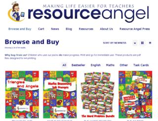 resourceangel.com screenshot