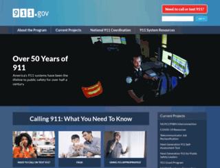 resourcecenter.911.gov screenshot