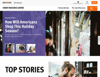 resourcecenter.discover.com screenshot