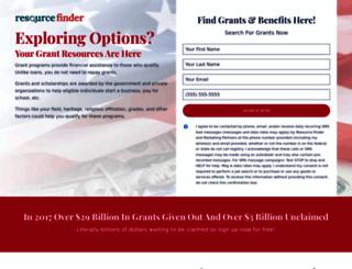 resourcefinder.info screenshot