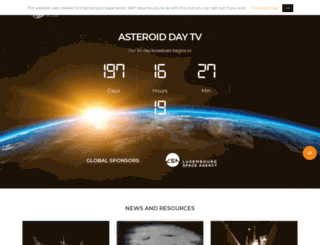 resources.asteroidday.org screenshot