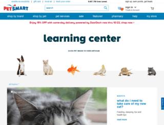 resources.petsmart.com screenshot