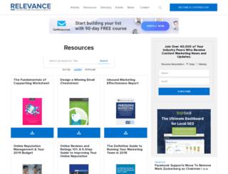 resources.relevance.com screenshot