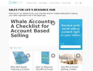 resources.salesforlife.com screenshot