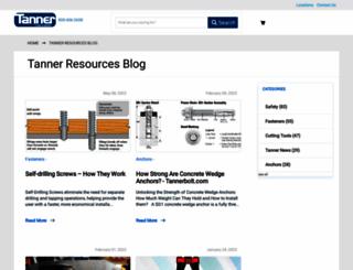 resources.tannerbolt.com screenshot