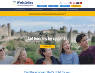 resources.worldstrides.com screenshot