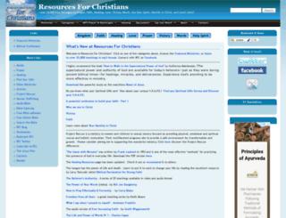 resourcesforchristians.net screenshot