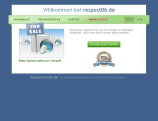 respect06.de screenshot