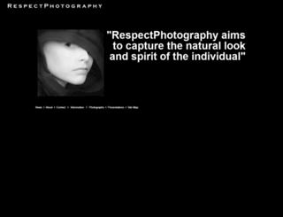 respectphotography.com screenshot