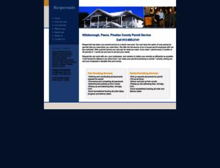 respermits.com screenshot