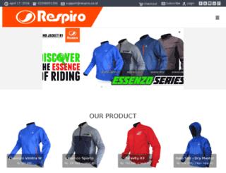 respiro-ridingware.com screenshot