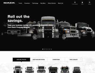 respond.macktrucks.com screenshot