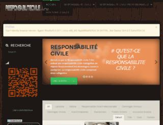 responsabilitecivile.org screenshot