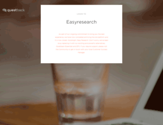 response.easyresearch.se screenshot