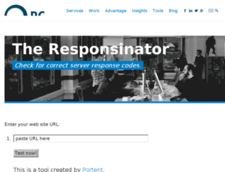 responsetester.appspot.com screenshot