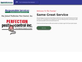 responsibleservices.com screenshot