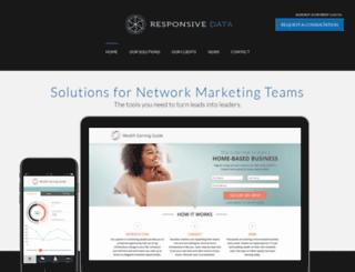 responsivedata.com screenshot