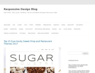 responsivedesignblog.com screenshot