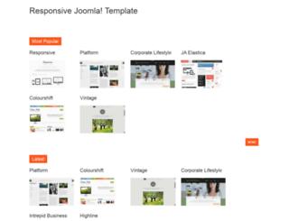 responsivejoomlatemplate.org screenshot