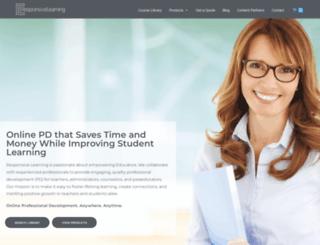 responsivelearning.com screenshot