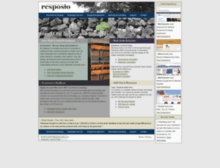 resposio.com screenshot