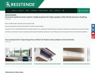 resstende.com screenshot