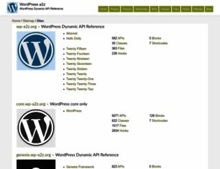 rest.wp-a2z.org screenshot