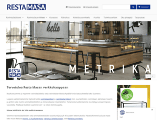 restamasa.fi screenshot