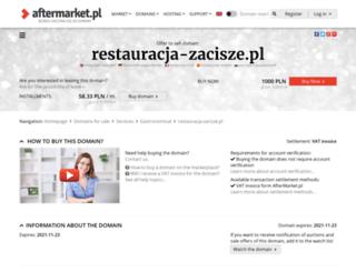 restauracja-zacisze.pl screenshot