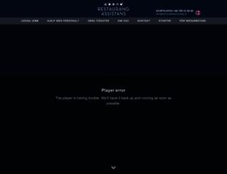 restaurangassistans.se screenshot