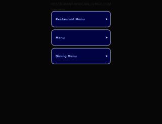 restaurant-africanlounge.com screenshot