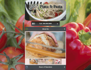 restaurant-mobile-demo.mdemo.me screenshot