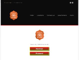 restaurant-mysore.com screenshot