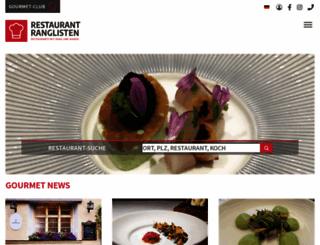 restaurant-ranglisten.de screenshot