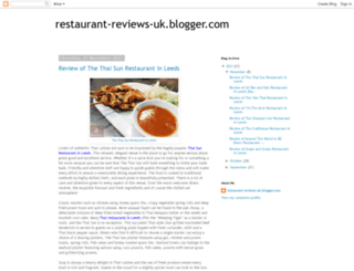 restaurant-reviews-uk.blogspot.co.uk screenshot