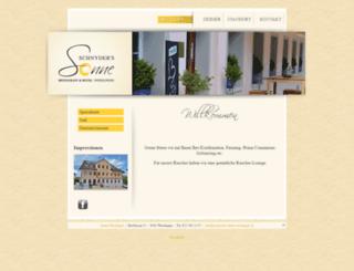 restaurant-sonne-weisslingen.ch screenshot