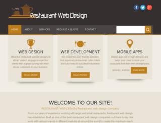 restaurant-webdesign.weebly.com screenshot