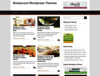 restaurant.cmsmind.com screenshot